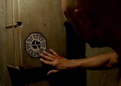 LOST, John Locke examines dharma initiative sw...