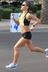 Runner in PF Chang Marathon 2010