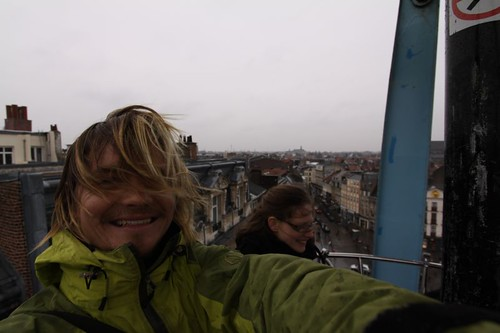 From the Ferris wheel in Lille, northern France.