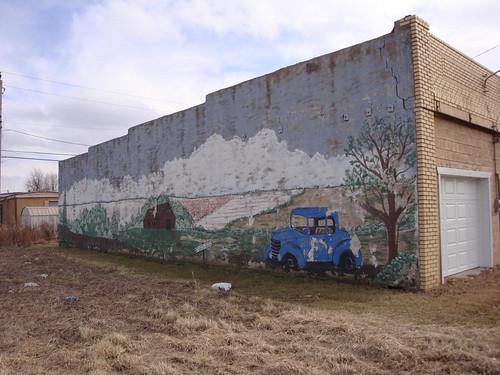 Mural, Chouteau, Oklahoma