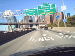 FDR Drive - New York City, New York (Dougtone) Tags: road nyc newyorkcity bridge newyork sign highway manhattan route parkway freeway eastriver shield expressway fdrdrive