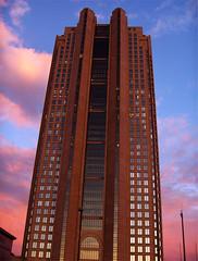 Building at Dawn