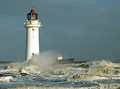 Mersey wave (Mr Grimesdale) Tags: lighthouse liverpool waves stormy olympus breakers wirral newbrighton merseyside e510 rivermersey mrgrimsdale stevewallace newbrightonlighthouse perchrock perchrocklighthouse mrgrimesdale
