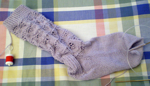Baby's breath sock 2