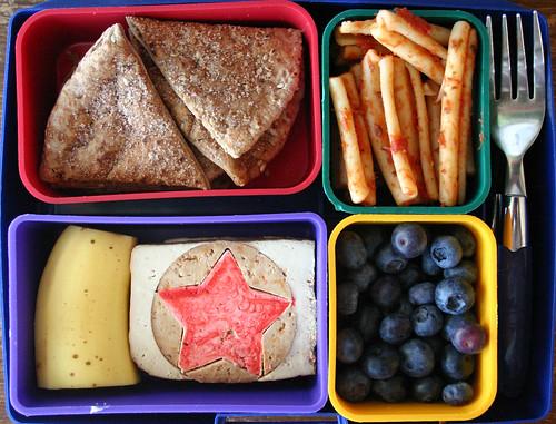 Kindergarten Bento #286: January 28, 2010