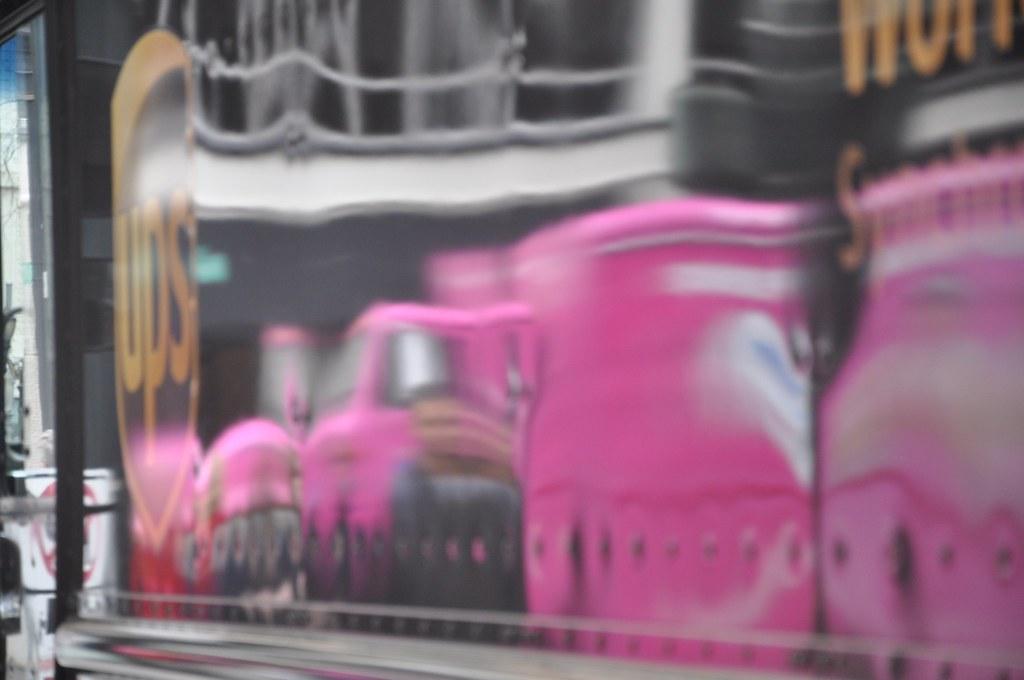 UPS Delivers Pink