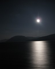 Full moon over Sognfjord (MyLegAlta) Tags: world red college ferry cross united craig nordic rcnuwc rd christensen ferje nordisk kors sognfjord bestofrcnexperience0910