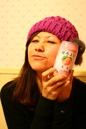 今日點心 桃子酒