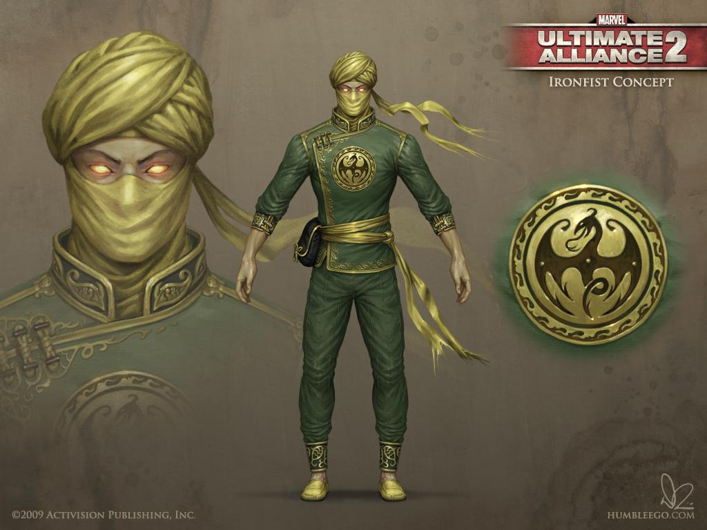 Marvel ultimate alliance iron fist