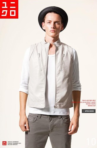 UNIQLO 0238_LOOK BOOK 2010 SPRING_Jakob Hybholt