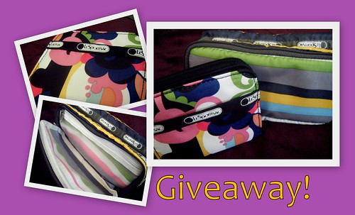 LeSportsac Wallet and Makeup Bag