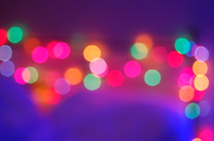 bokeh bokeh bokeh! (coco aice.) Tags: pink blue red orange green colors lights bokeh d40