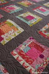 Bridie's Quilt (QOB) Tags: quilt quilted patchwork qob machinequilted quiltsonbastings longarmquilted