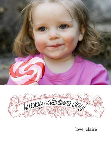 Valentine's card 2010