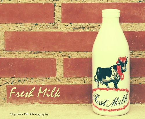 Fresh Milk bottle