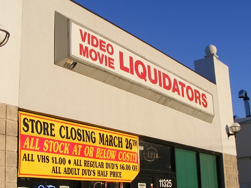 Video Movie Liquidators Is Closing