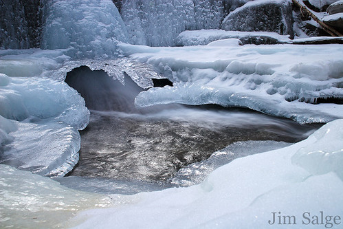 Jim Salge Photography - Icy Falls and Flow