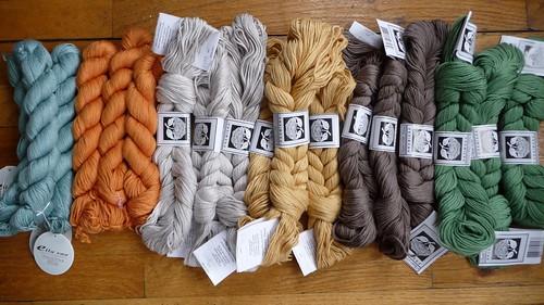 New yarn shipment