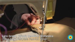 Circuit Bending Orchestra: Lara Grant at Diana Eng's Fairytale Fashion Show, Eyebeam NYC / 20100224.7D.03620 / SML (See-ming Lee  SML) Tags: show city nyc newyorkcity light shadow people urban music woman newyork nycpb fashion female photography design women technology geek photojournalism gothamist sq synergy circuitbending 2010 eyebeam sml canon2470f28l 201002 dianaeng canon580ex ccbysa seeminglee strobist eyebeamorg eyebeamarttechnologycenter fairytalefashion crazyisgood laragrant canon7d smlphotography people:count=1 20100224 fspfm