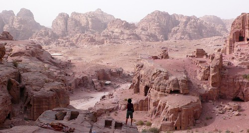 from the high place of sacrifice, petra