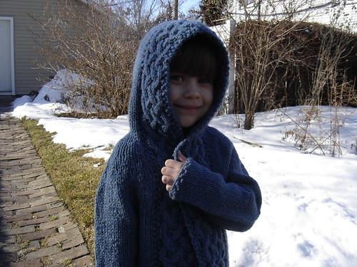 Arwen-inspired kid's cardi 4