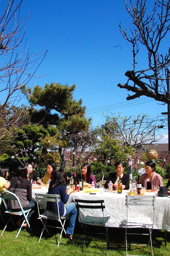 our garden party