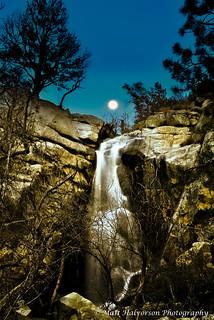 Hollowing at wolf creek falls moon