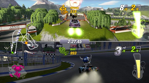 2 players racing games ps4
