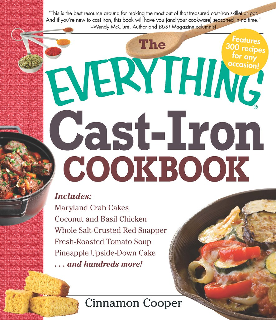 Everything Cast-Iron Cookbook - Final Cover