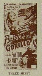 BRIDE OF THE GORILLA (1951) Pressbook detail