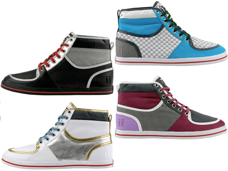 Striipe Bleecker Hi-Top Sneaker Stone 5