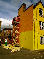 Virginia Primary School/ Let's Colour Project London (Let's Colour) Tags: uk school england orange color colour london playground yellow painting children virginia paint play lets painted brush painter colourful primary paintbrush painters dulux akzonobel eurorscg virginiaprimaryschool valentine euro letscolor letscolour dulux rscg