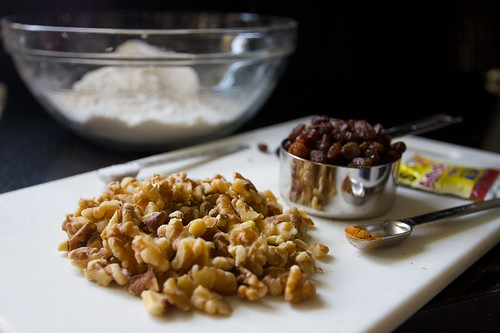 walnut raisin fun!