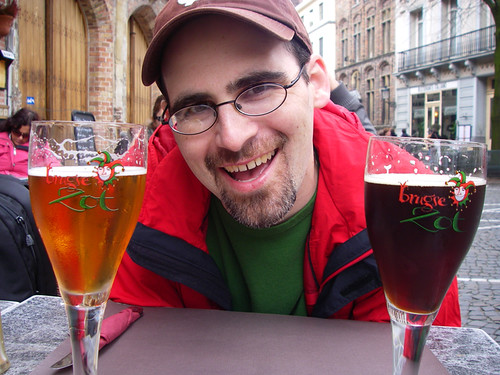 Eric w/ beer!
