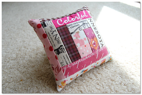 custom pincushion