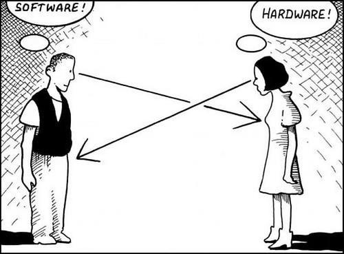 I love software