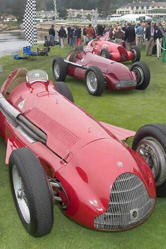 1951 Alfa Romeo Tipo 159 Alfetta. 1951 Alfa Romeo Tipo 159 quot;Alfettaquot; GP Car. 2003 Concours, Pebble Beach, CA,