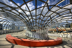 Webb Bridge (Wojtek Gurak) Tags: architecture australia melbourne webbbridge dcm dentoncorkermarshall flickrelite archiref