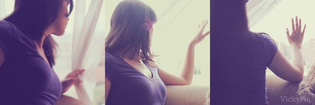 Triptico, Mirona por la ventana