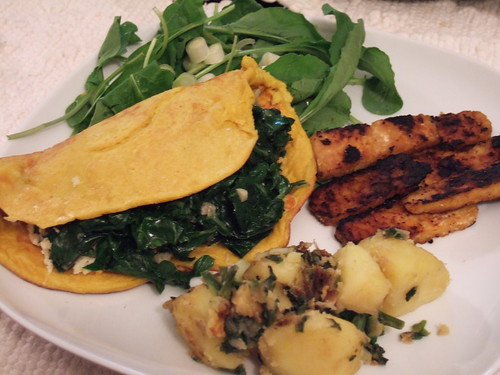 Vegan Brunch omelet