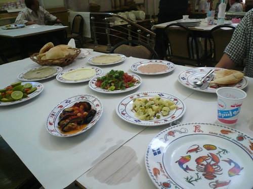 Abou Ashraf mezzes