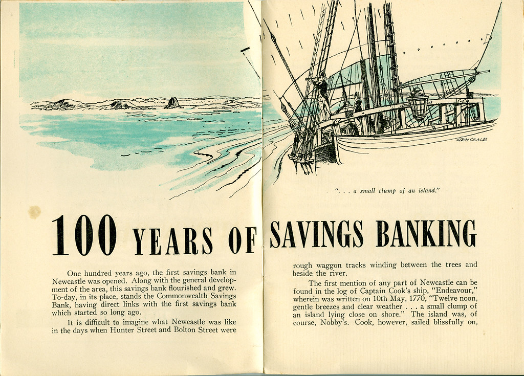 100 Years: Savings Banking in Newcaste - Page 1 and 2