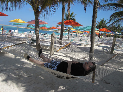 Erik in the hammock