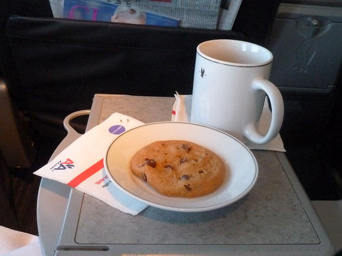 American Airlines First Class Cookie