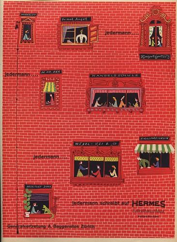 Du 1946-10 Hermes Schreibmaschinen