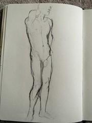 20 (karo_be) Tags: nude akt scribbles mann bleistift skizzen mnnlich