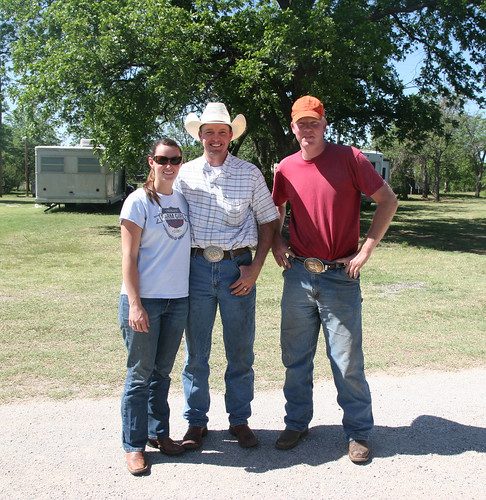 We had a nice visit with our neighbors- Kylee, Dillon and Laramie of Debrock Harvesting