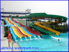 Multi6 and Parallel Slides II - Alcudia Water park