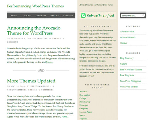 Too-Newsy-Wordpress-Typography-Theme-Demo