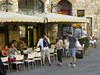 Coffe bar in San Gimignano